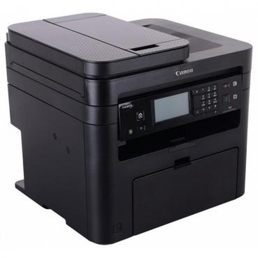 cherno-belyj-printer-a4 в Кыргызстан: Продаю почти новый МФУ 3в1 Canon MF237wПринтер/сканер/копирМодель -