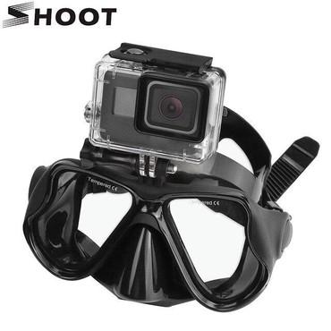 gopro в Азербайджан: GoPro action kameralar ucun su maskasiButun aksesuarlar satisda var