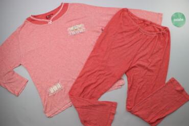 Жіноча піжама з декором р. L    Довжина кофти: 61 см Ширина плечей: 45