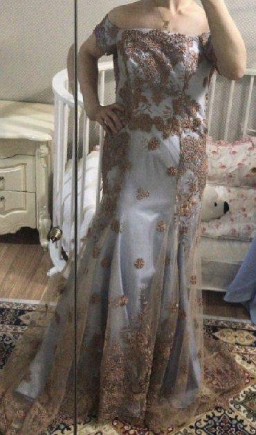 шью на заказ платье в Кыргызстан: Продаю Платья или на прокат Шила на заказ одето 1 раз Ткань Дубай!