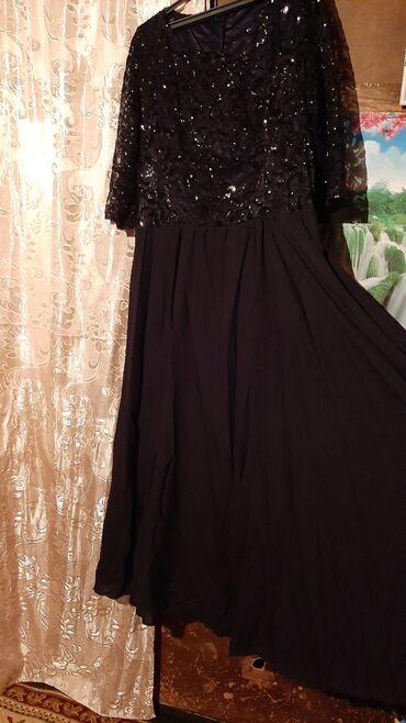 вечерние платья для полных дам в Кыргызстан: Вечернее платья для полных дам 56-58размер носили пару раз покупали за