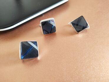 Комплекты из серебра с натуральными камнями