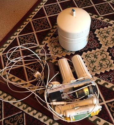 фильтры для очистки воды аквафор в Кыргызстан: Суу чыпкасы (фильтр) 1 бир ай колдонулган