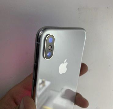 Айфон Х 64 ГБ цвет белый , в идеальном в Бишкек