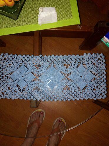 Tekstil - Srbija: Interesantna sustikla.Bele boje,lep rad