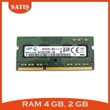 Sumqayıt şəhərində Notebook ramları DDR3
