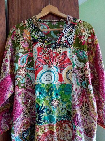 Din haljina - Srbija: Tunika i haljina INDIA SHOPVel. nije naznacena, ali je za XXXL (moze i