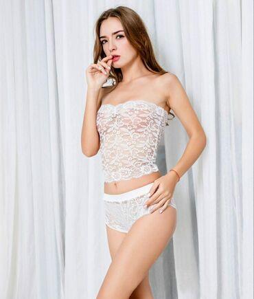 Очень красивый комплект нижнего белья выполнен исключительно из