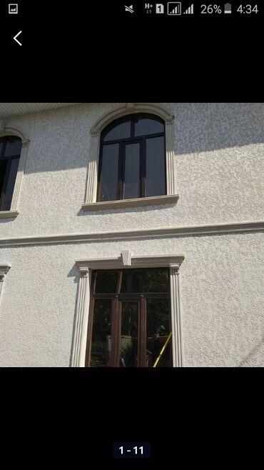 фасадный декор бишкек в Кыргызстан: Утепления домов офисов особняки и.т.дФасадные работа быстро и
