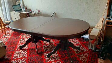 stol ot shvejnoj mashinki в Кыргызстан: Продаю срочно стол деревянный!!! В хорошем состоянии, раздвижной стол