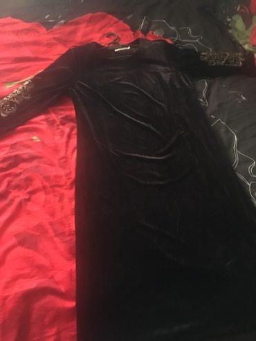 Продаю новое платье цвет коричневый размер 54 в Бишкек