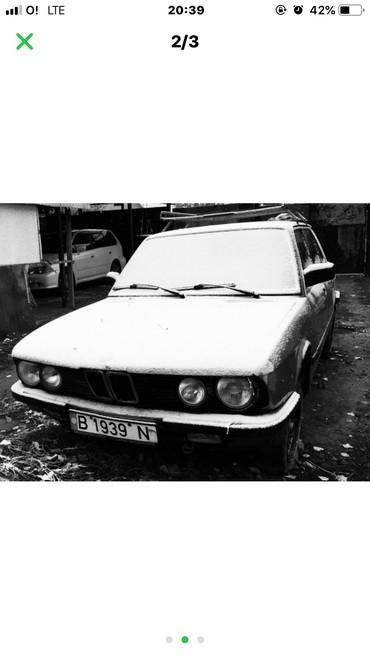 bmw-520 в Кыргызстан: BMW 520 2 л. 1982   192552 км