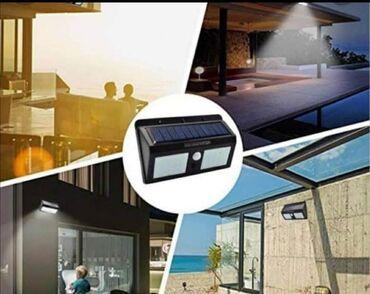 Svetlo na solarno punjenje, novo u originalnom pakovanju. Osvetlite