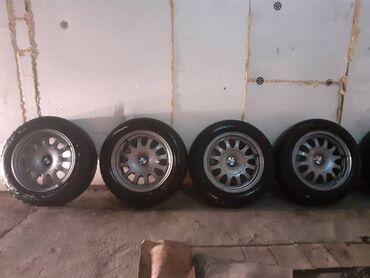 Продаю Диски на зимней резине Toyota и BMW (комплекты по 4 колеса в