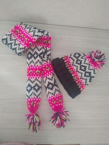 Шапка и шарф Sela! 300 сом