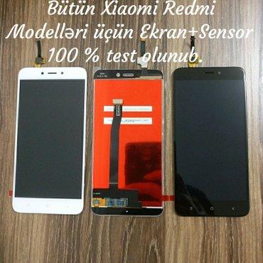 Xiaomi redmi 4x ekran+sensor - Gəncə