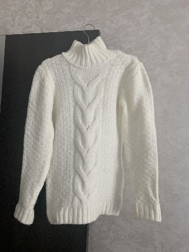 женские-белые-свитера в Азербайджан: Trendyoldan alinib.isti saxlayir,toxunmadir