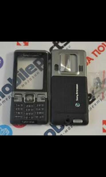 Другие аксессуары для мобильных телефонов в Сумгайыт: Salam şəkildə olan soni Ericsson c702i korpus orjinal