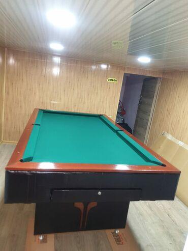 billiard - Azərbaycan: Бильярдный стол, отрестоврированный размеры 230×130 в идеальном