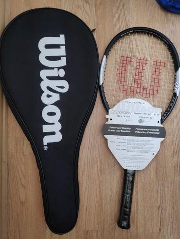 Raketkalar Azərbaycanda: Wilson tenis raketkası:Head Size: 113 sq. in. / 729 sq. cm.Length
