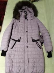 Зимняя теплая курточка в хорошем состоянии. Мех на капюшоне