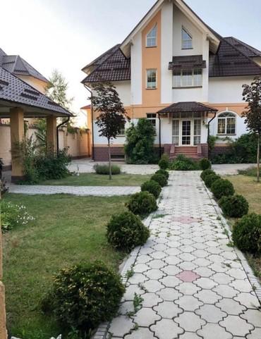 Киргизия 1  особняк  2500$  на длительный период  3х уров  7 комнат в Бишкек