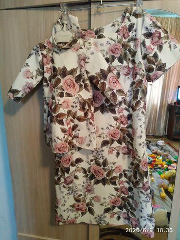 Платья в Ак-Джол: Платье мама и дочка размеры женского 42-46, детский до 1,5 года