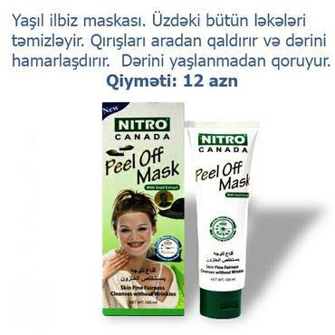 Bakı şəhərində Nitro krem