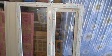 Окно пластиковое 1шт. новое, ширина 1мвысота 1.2м с подоконником