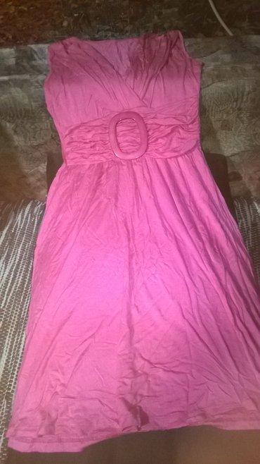 Slatka pamucna haljinica,dva puta obucena,prava boja na slici sa - Kragujevac