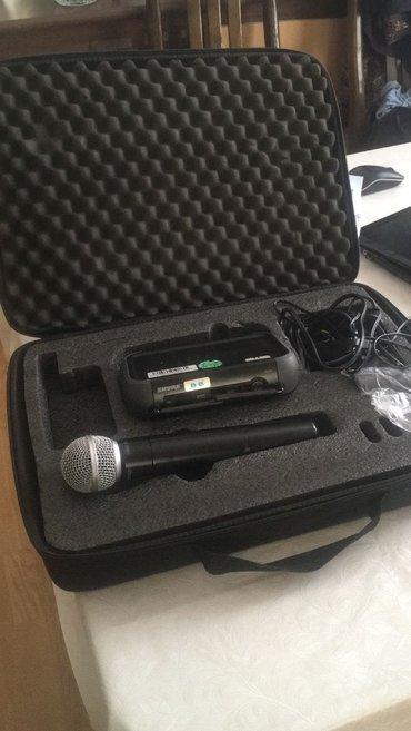 Bakı şəhərində Mikrofon Shure pgx24/sm58.orijinal. mikrofon Almaniyadan gətirilir.