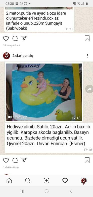 İdman və istirahət Şabranda: Hovuzlar