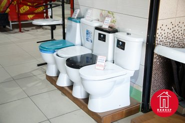 Унитазы большой выбор установка и доставка бесплатно. в Бишкек