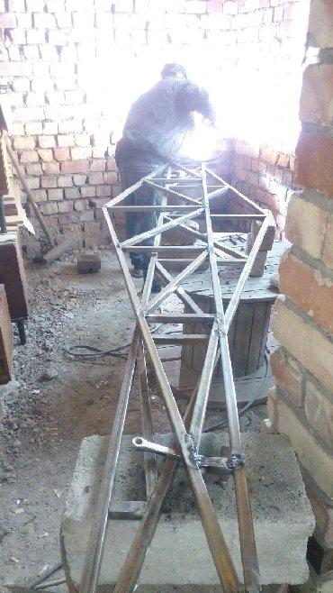фермы металические в Кыргызстан: Изготовление фермы решетки оградки. # все для дома # сварка # сварщик