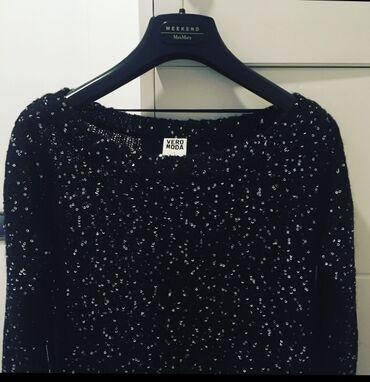 Pink kosuljoca - Srbija: Bluza marke Vero moda, potpuno očuvana-kao nova, pamuk sa srebrnim