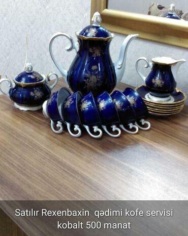 servizi - Azərbaycan: Kobaltın kafeyni servizi 500 azn Q.Qzrayev& solmaz
