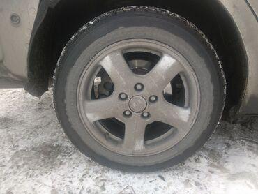 диски на авто в Кыргызстан: Продаю диски 16 стоят на Камри шинами
