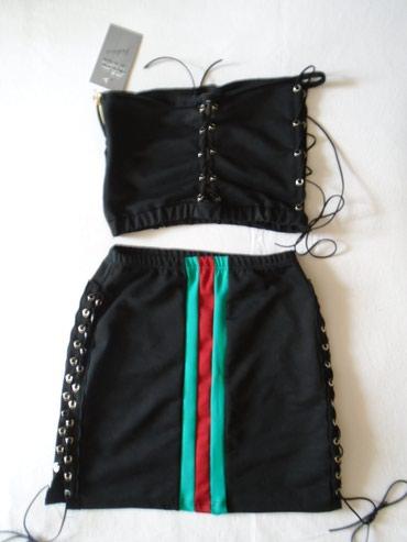 Potpuno nova, samo slkinuta etiketa, suknjica na pertlanje S - Belgrade