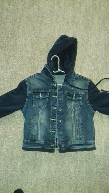 Dečije jakne i kaputi   Zrenjanin: Jakna za devojčice vel.152Teksas jakna sa pamučnim rukavima. jako