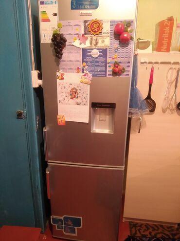 прием-холодильников в Кыргызстан: Б/у Двухкамерный Серый холодильник Avest