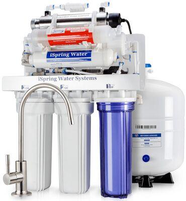filter - Azərbaycan: Su arıtma cihazı 6 pilləli filter matorlu və matorsuz 10 litr su