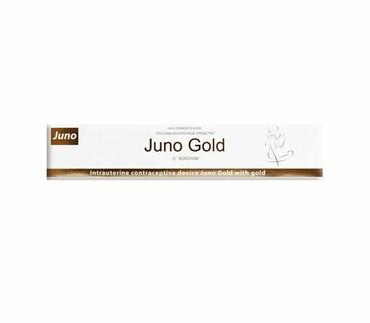 Внутриматочная спираль Juno Gold(Джуно Голд), марка Юнона.Золотая