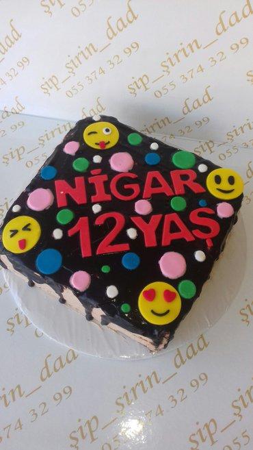 Bakı şəhərində her nov her zovqe uygun tortlarin evde hazirlanmasi kilosu 17azn- şəkil 2
