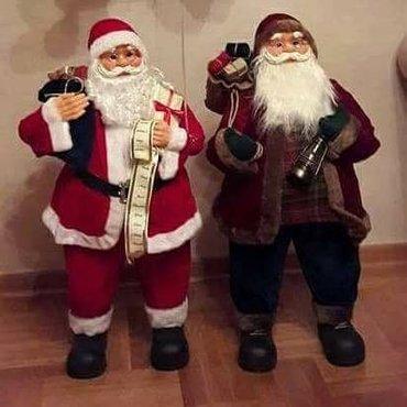 Deda Mraz 80cm sa poklonima Lutka Deda Mraz za novogodišnju - Nis