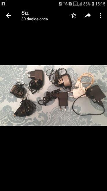 Samsunq telefonu üçün adaptorlar Birinin qiyməti 6 azndi