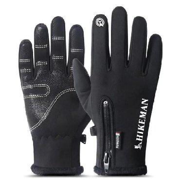 Зимние варежки перчатки для сенсорного экрана водонепроницаемые