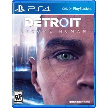 Bakı şəhərində Ps4 üçün Detroit Become Human oyun diski satılır Yenidir bağlı
