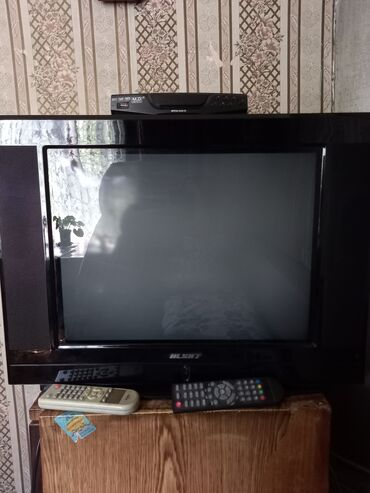 Электроника - Маевка: Продаётся цветной телевизор.С цифровой приставкой.В отличном состоянии