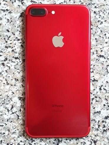 iphone 7 plus 128gb в Кыргызстан: Б/У iPhone 7 Plus 128 ГБ Красный