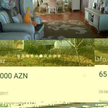Gəncə şəhərində Samux rayonunda rayonun mərkəzində yerləşən həyət evi kirayə